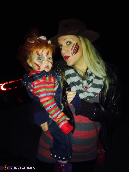 Mom n' me., Chucky with a Bow Costume