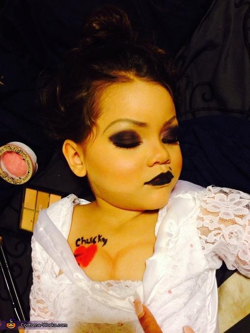 Chucky's Bride Homemade Costume