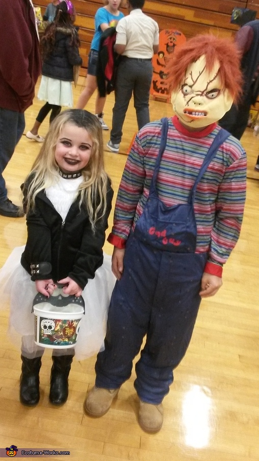 Chucky's Bride Homemade Costume