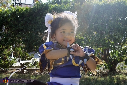 Chun Li from Street Fighter Homemade Costume