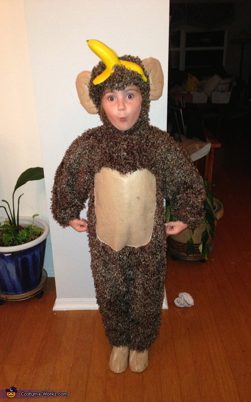 The under-monkey, Chunky Monkey Ice Cream Costume