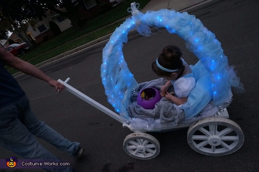 Awesome Cinderella Costume for Girls