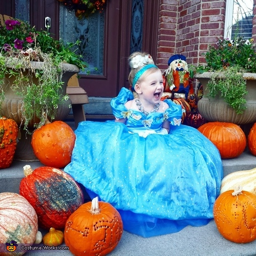 Which Pumpkin Will Be My Carriage?, Cinderella Costume
