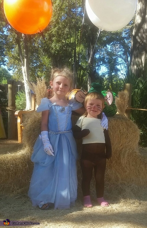 Cinderella and Gus Gus Costume