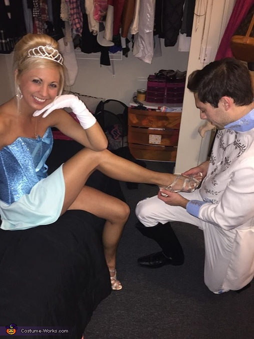 The Shoe Fits, Cinderella and Prince Charming Costume