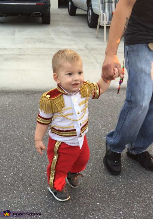 My son in his hand made Prince Charming costume!, Cinderella and Prince Charming Costume