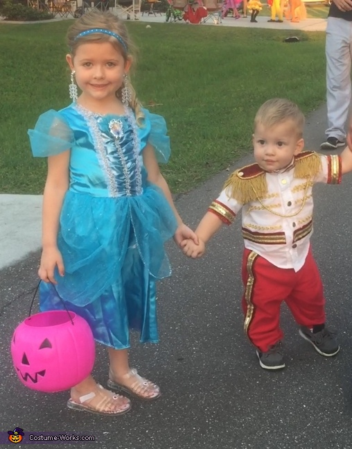 Cinderella and Prince Charming Costume