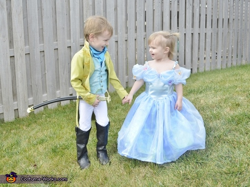 Cinderella and Prince Kit Costume