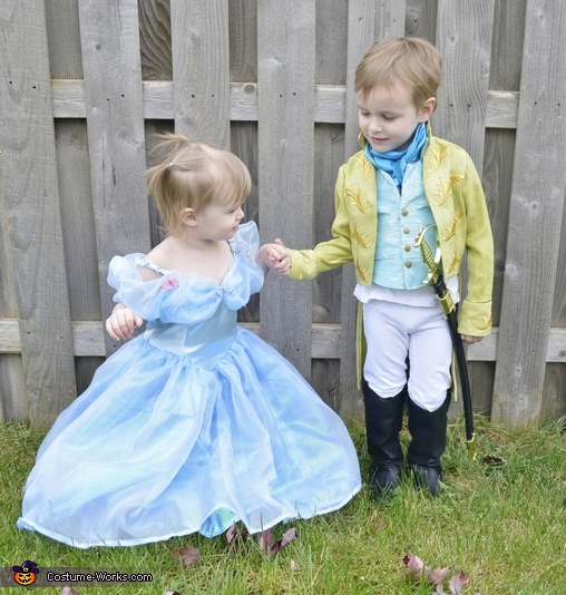 Cinderella and Prince Kit Homemade Costume