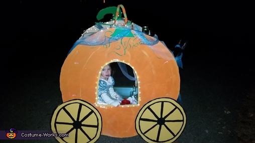 Title, Cinderella and Pumpkin Coach Costume