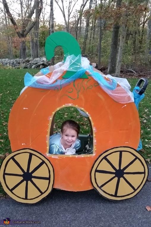 Cinderella and Pumpkin Coach Costume