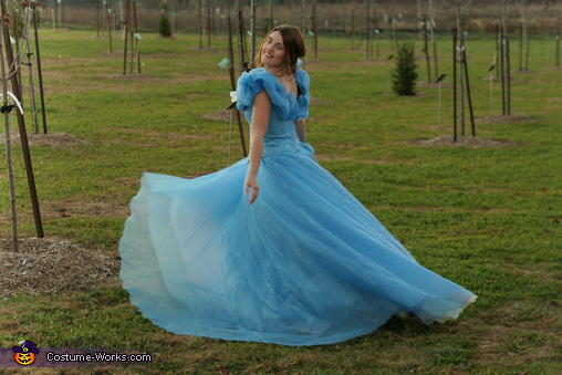 Showing off Layers, Cinderella: Belle of the Ball Costume