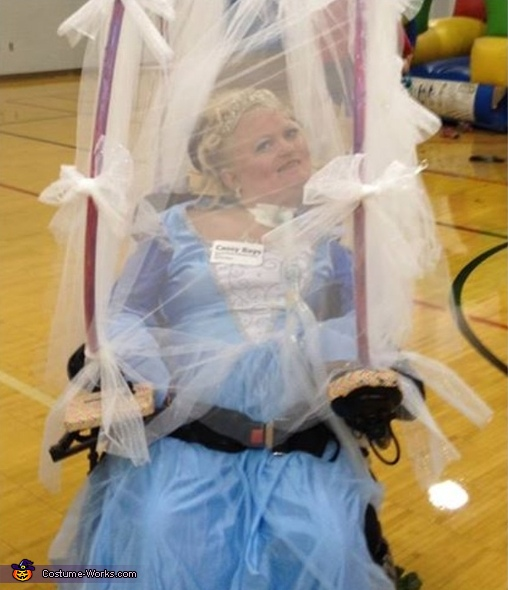 Cinderella in Carriage Costume