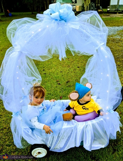 Cinderella & Gus's Royal Ride Costume
