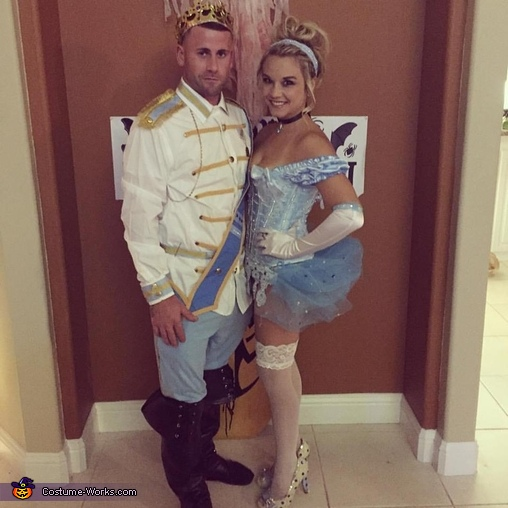 Cinderella & Prince Charming Homemade Costume