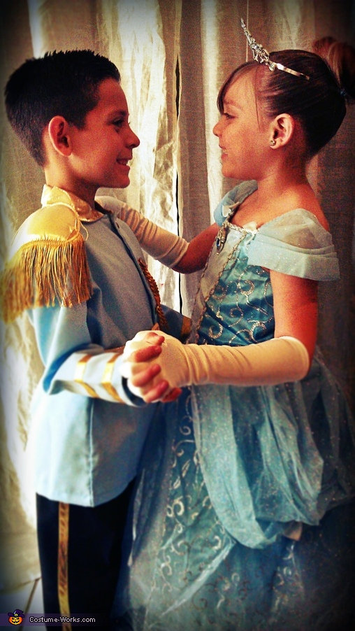 Cinderella & the Prince Costume