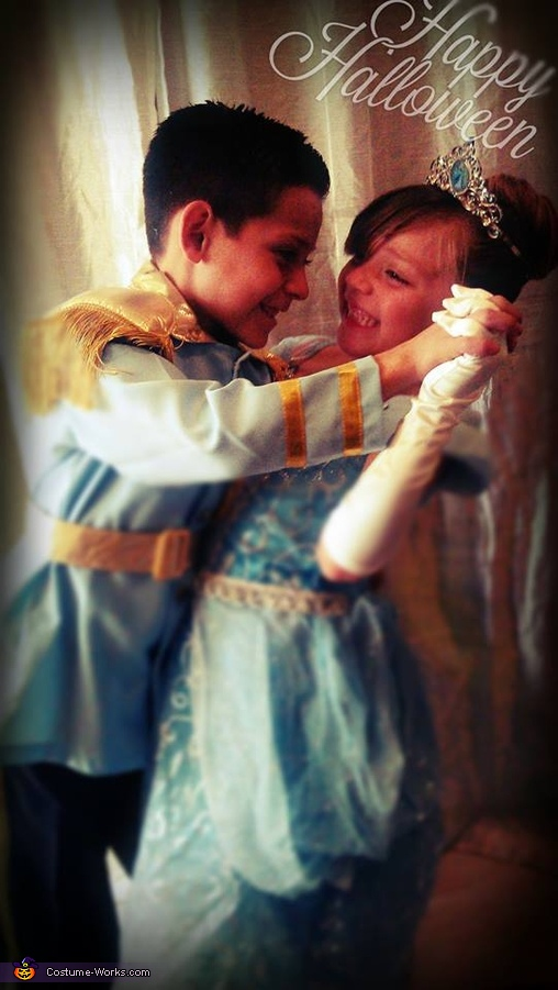 Cinderella & the Prince Homemade Costume