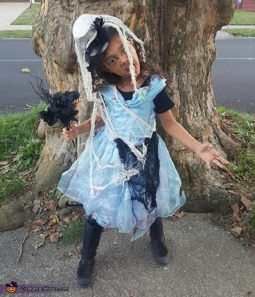 Cinderella Zombie Bride Costume