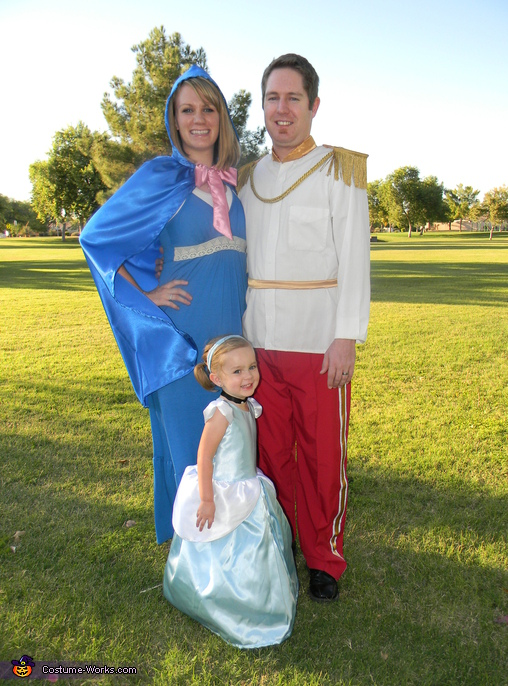 Cinderella's Royal Family - Homemade costumes for families