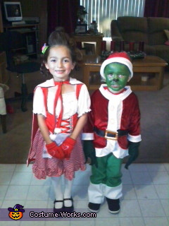 Cindy Lou and the Grinch Costumes