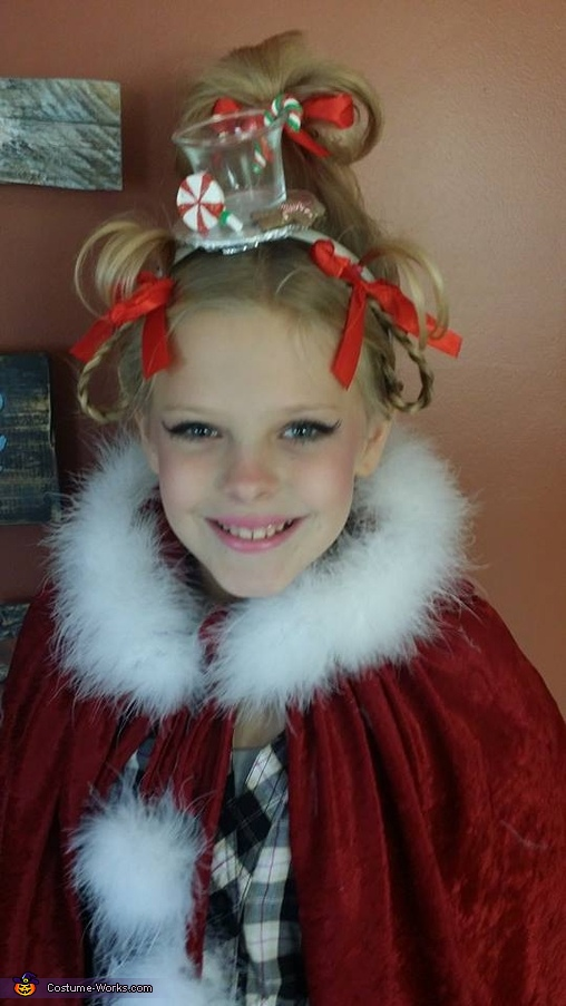 Cindy Lou Who Costume For Girls Photo 2 3