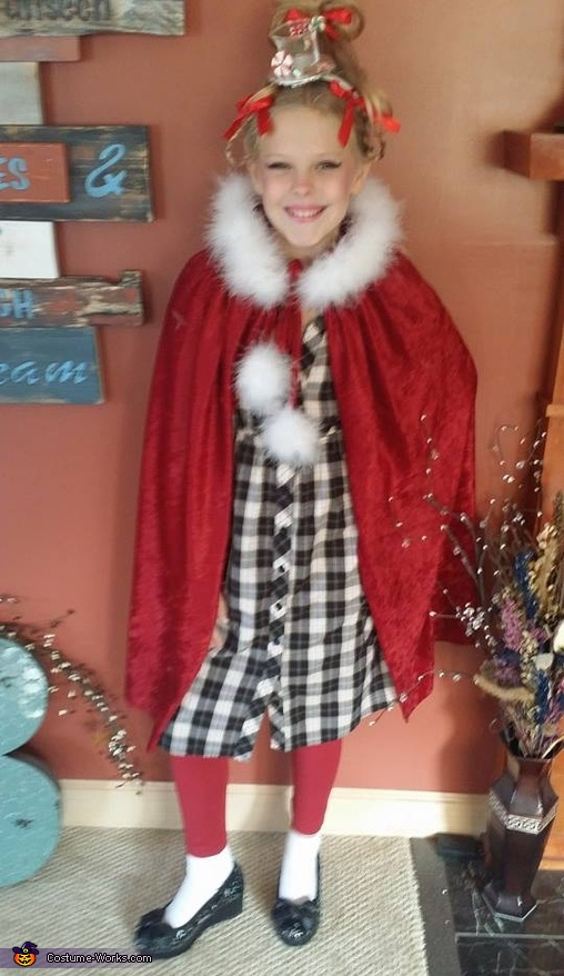 Cindy Lou Who Costume  sc 1 st  Costume Works & Cindy Lou Who Costume for Girls