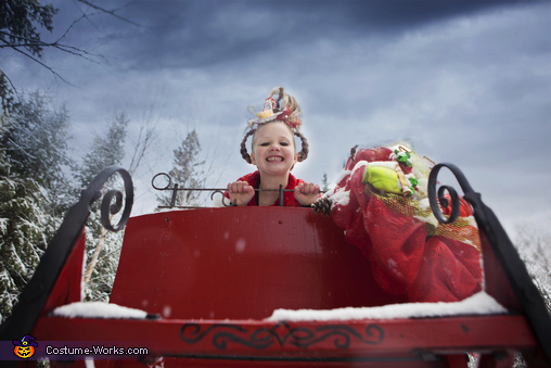 Nobody should be alone on Christmas, Cindy Lou Who Costume