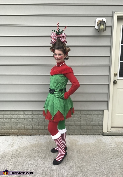 Cindy Lou Who front, Cindy Lou Who Costume
