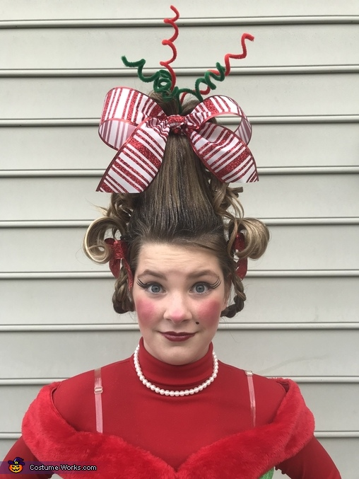 Cindy Lou Who hair front, Cindy Lou Who Costume
