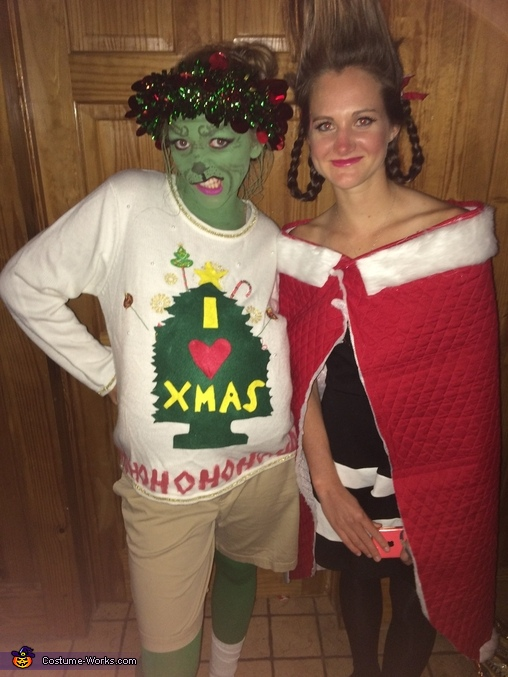 Cindy Lou Who and The Grinch Costume