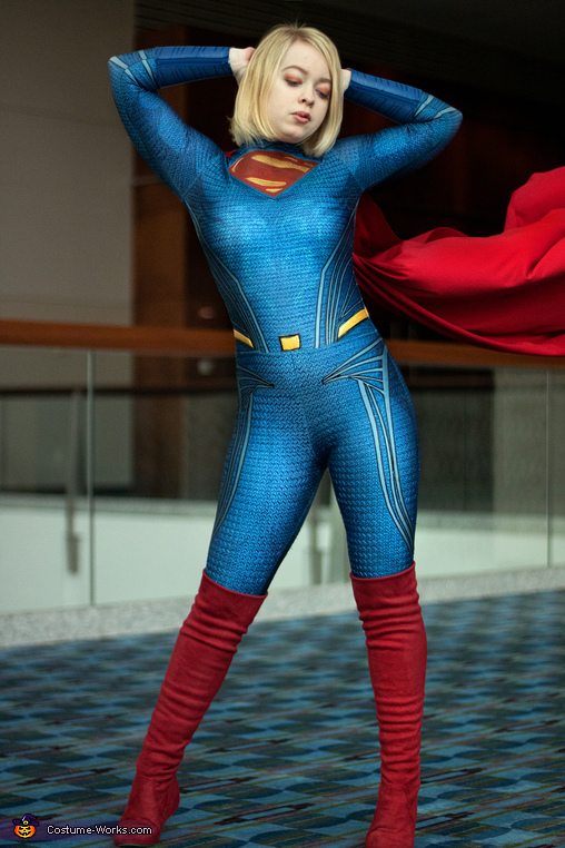 Cinematic Supergirl Homemade Costume