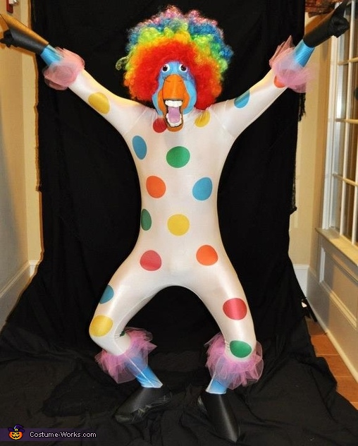 Circus Afro Costume