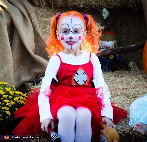 FNAF Circus Baby Costume