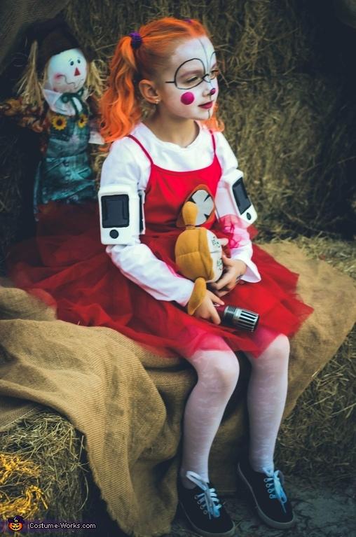 Circus Baby Homemade Costume