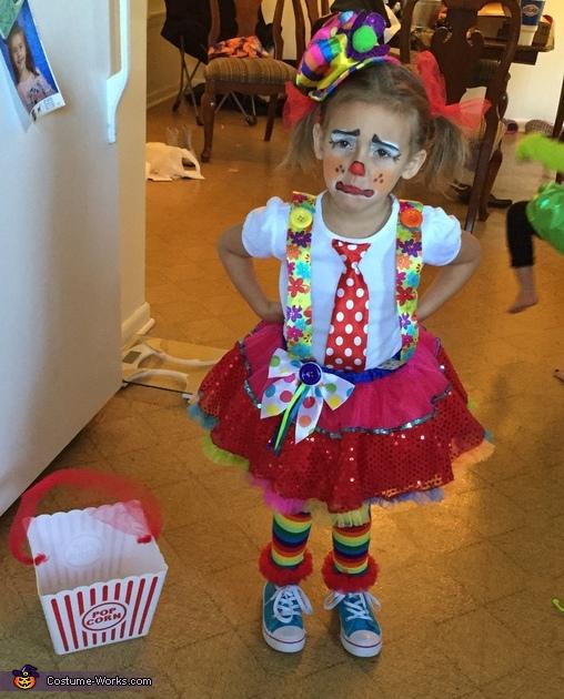 Circus Clown Costume