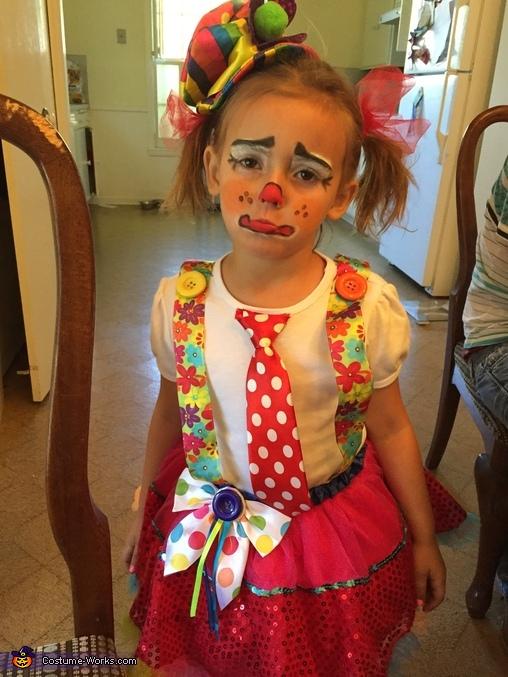Circus Clown Homemade Costume