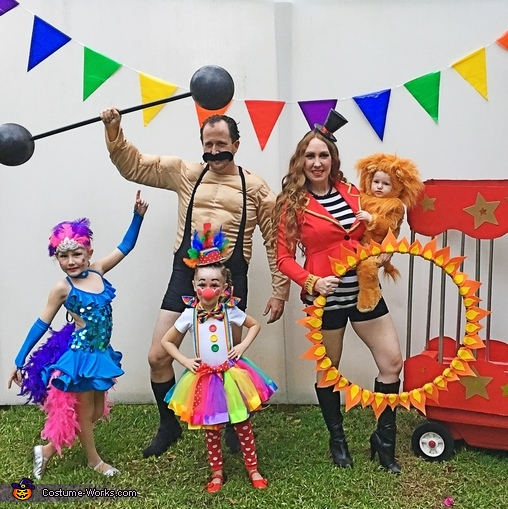 Circus Family Costumes