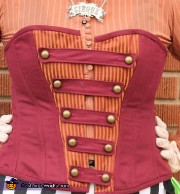 The corset., Circus Performer Costume