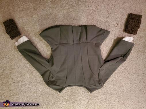 Jacket, back, Claire, Highland Healer Costume