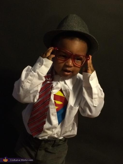 Clark Kent Baby Halloween Costume Idea