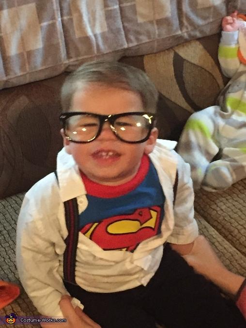 Clark Kent Baby Costume