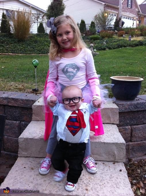 Big sister Supergirl and Mr. Clark Kent, Clark Kent Costume