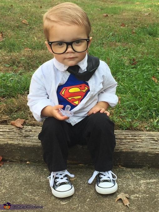 Clark Kent Baby Boy Costume