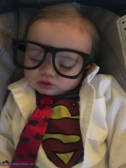 Sleeping, Clark Kent Baby Costume