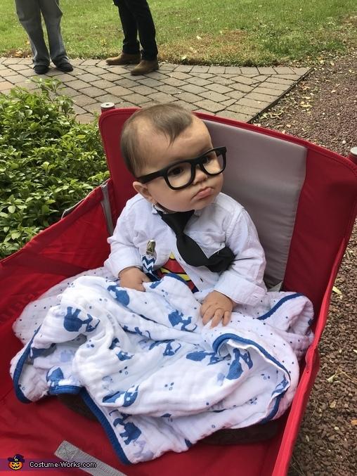 Clark Kent Homemade Costume