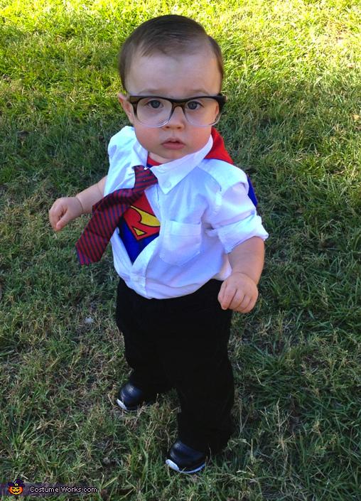 Diy Clark Kent Costume Babies