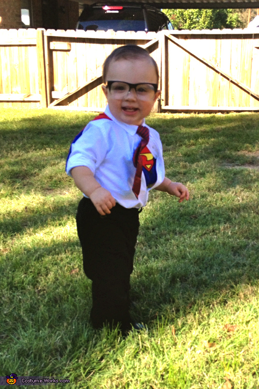 I Know who to save all the candy :), Clark Kent Costume