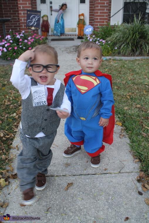 Clark Kent and Superman Costume