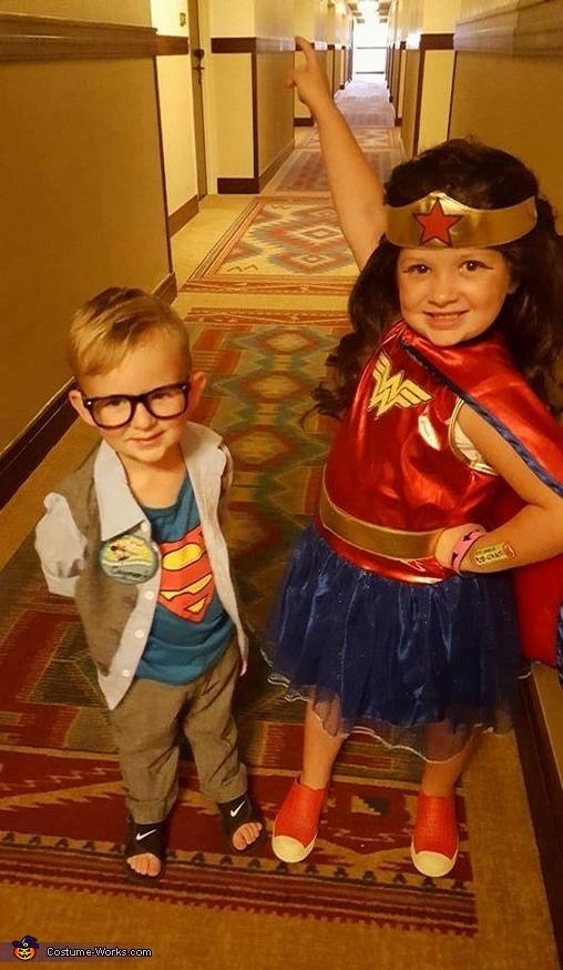 Clark Kent and Wonder Woman Costume