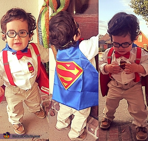 Clark Kent from Superman Baby Costume